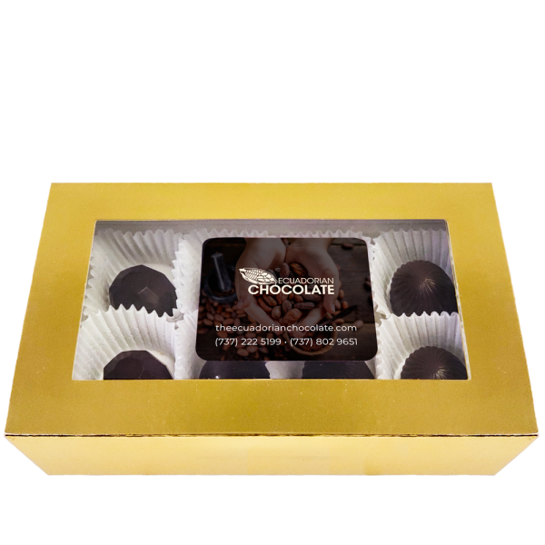 Box with 8 bonbons