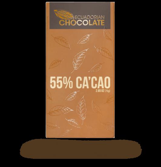 55% Cacao